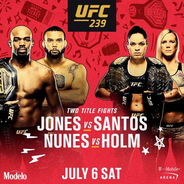 More Info for UFC 239