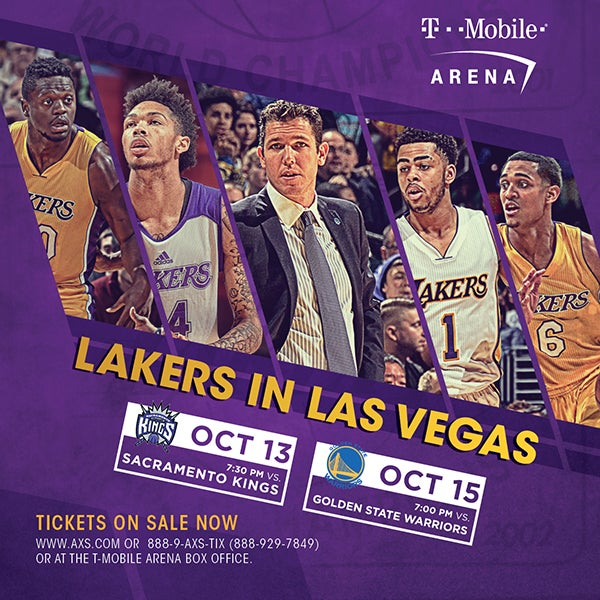 More Info for Los Angeles Lakers vs. Sacramento Kings