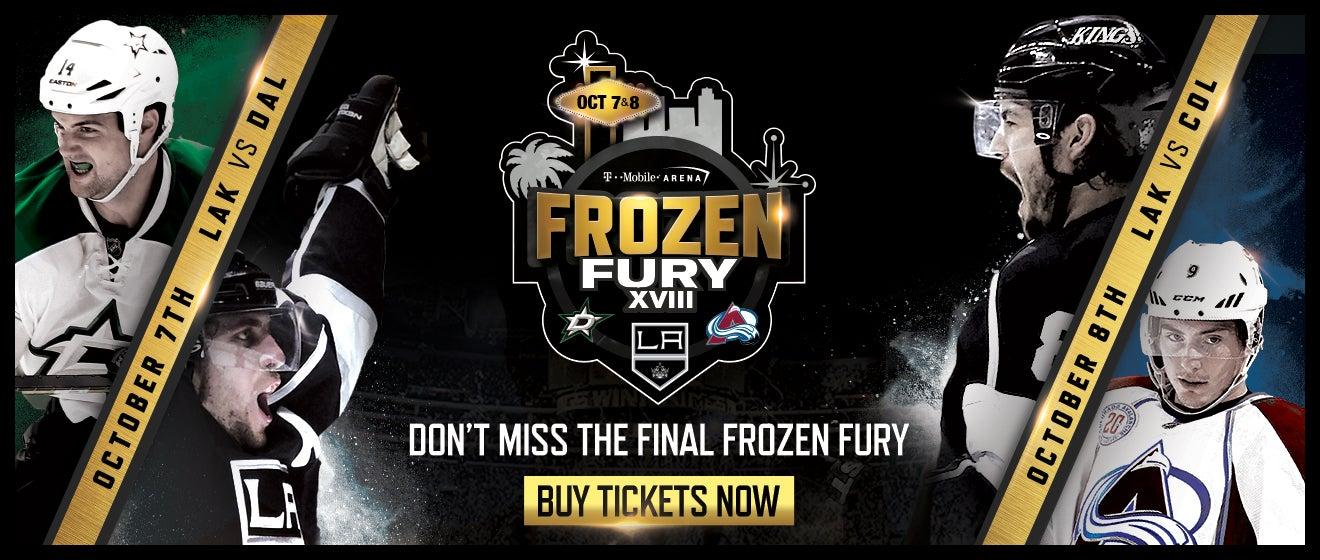 on sale 6f6fb 78d5f Frozen Fury XVIII - Los Angeles Kings vs. Dallas Stars | T ...