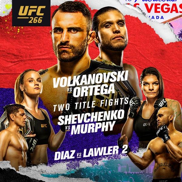 More Info for UFC 266