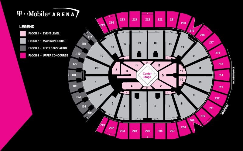 Center Stage Seating