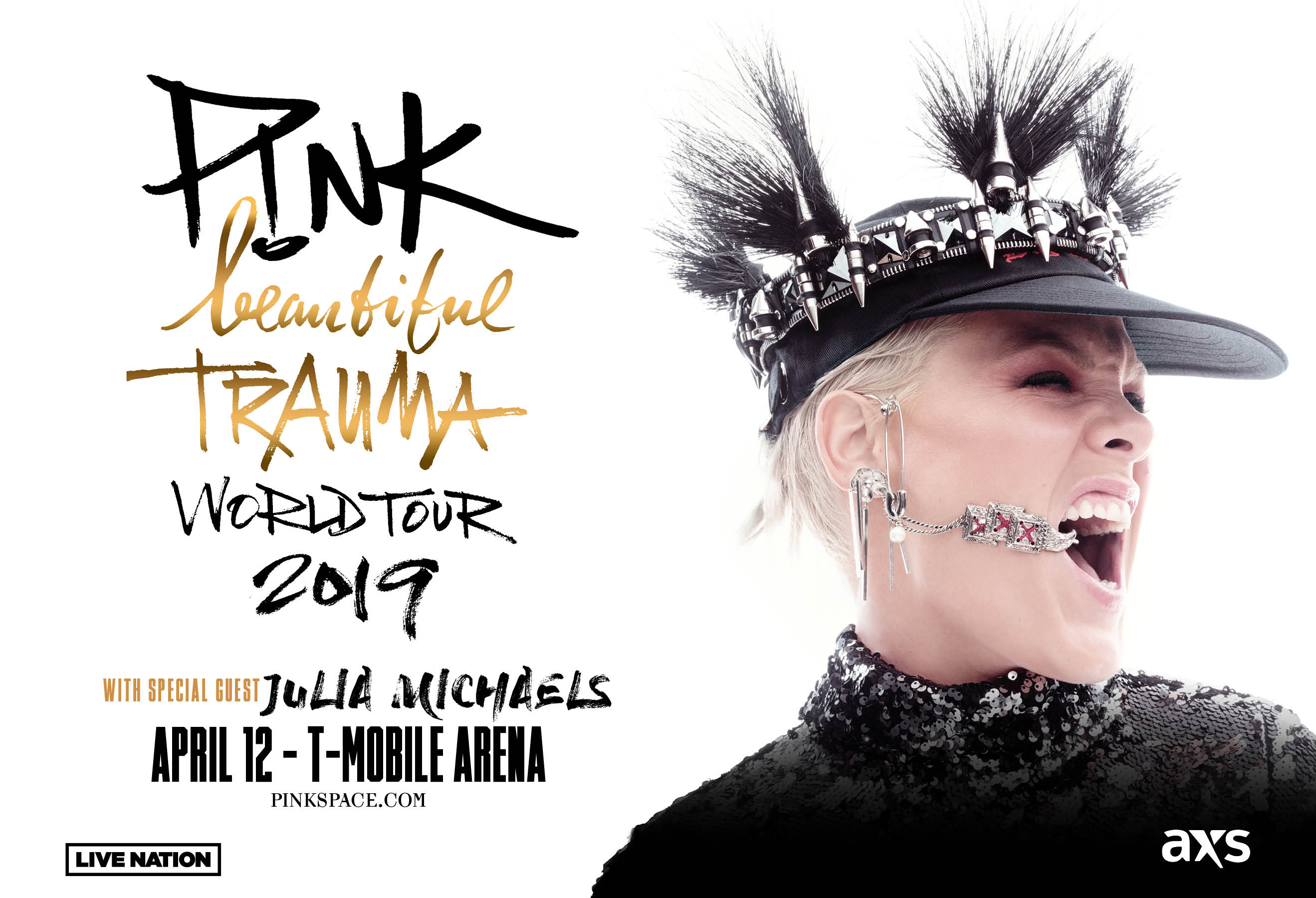 More Info for P!NK with special guest Julia Michaels