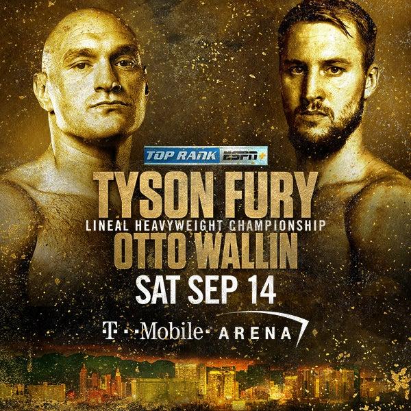 More Info for Tyson Fury vs Otto Wallin