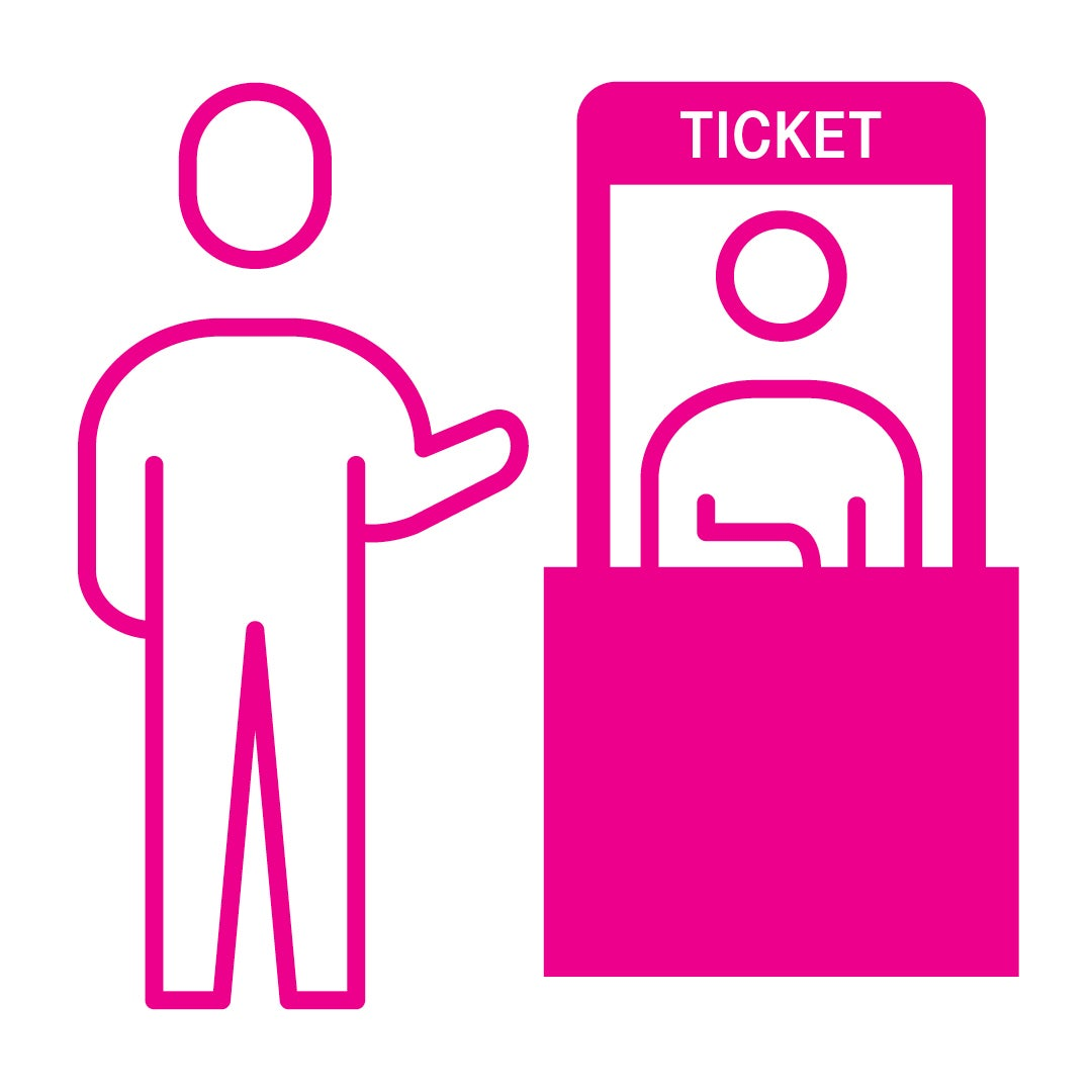 More Info for Contactless Ticket Office