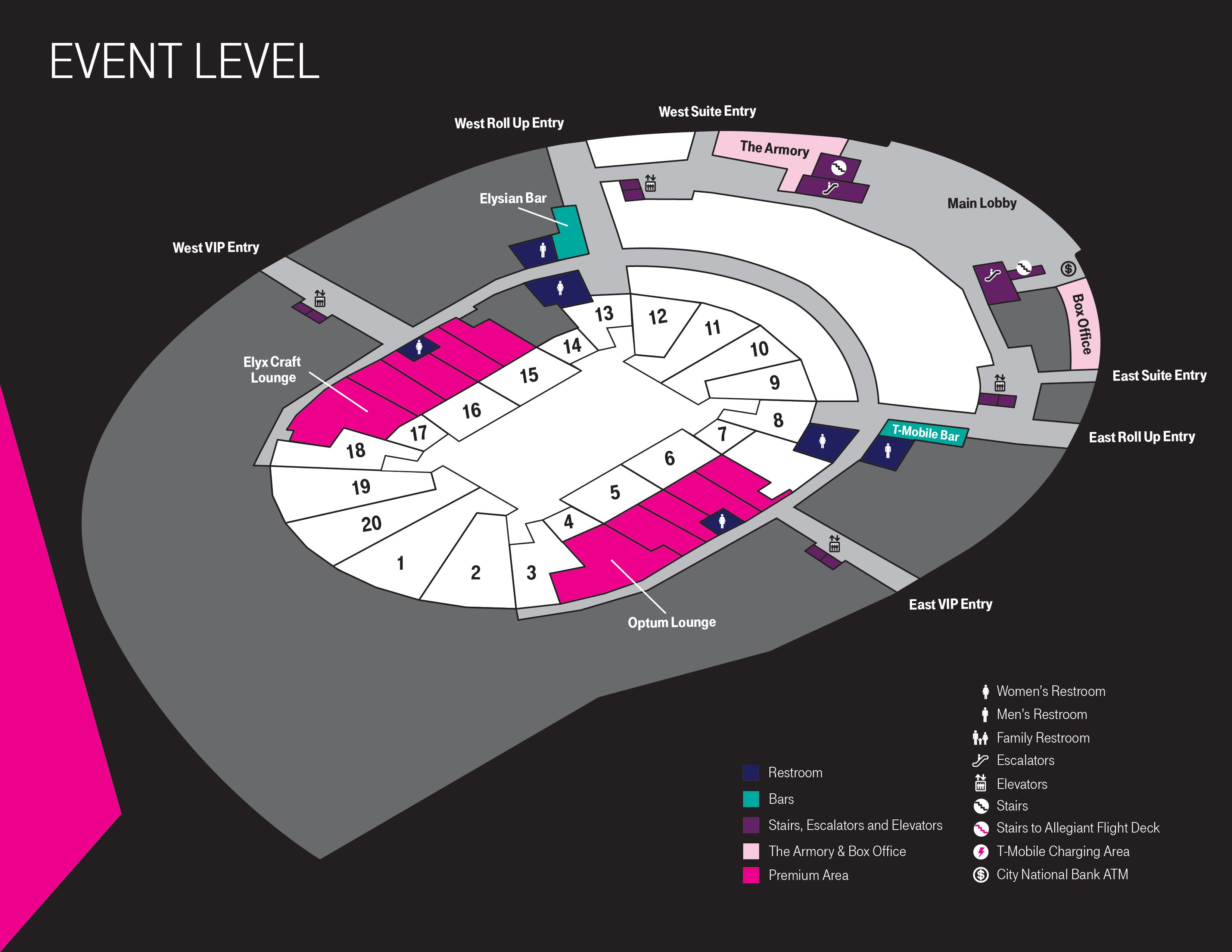 More Info for Event Level Map