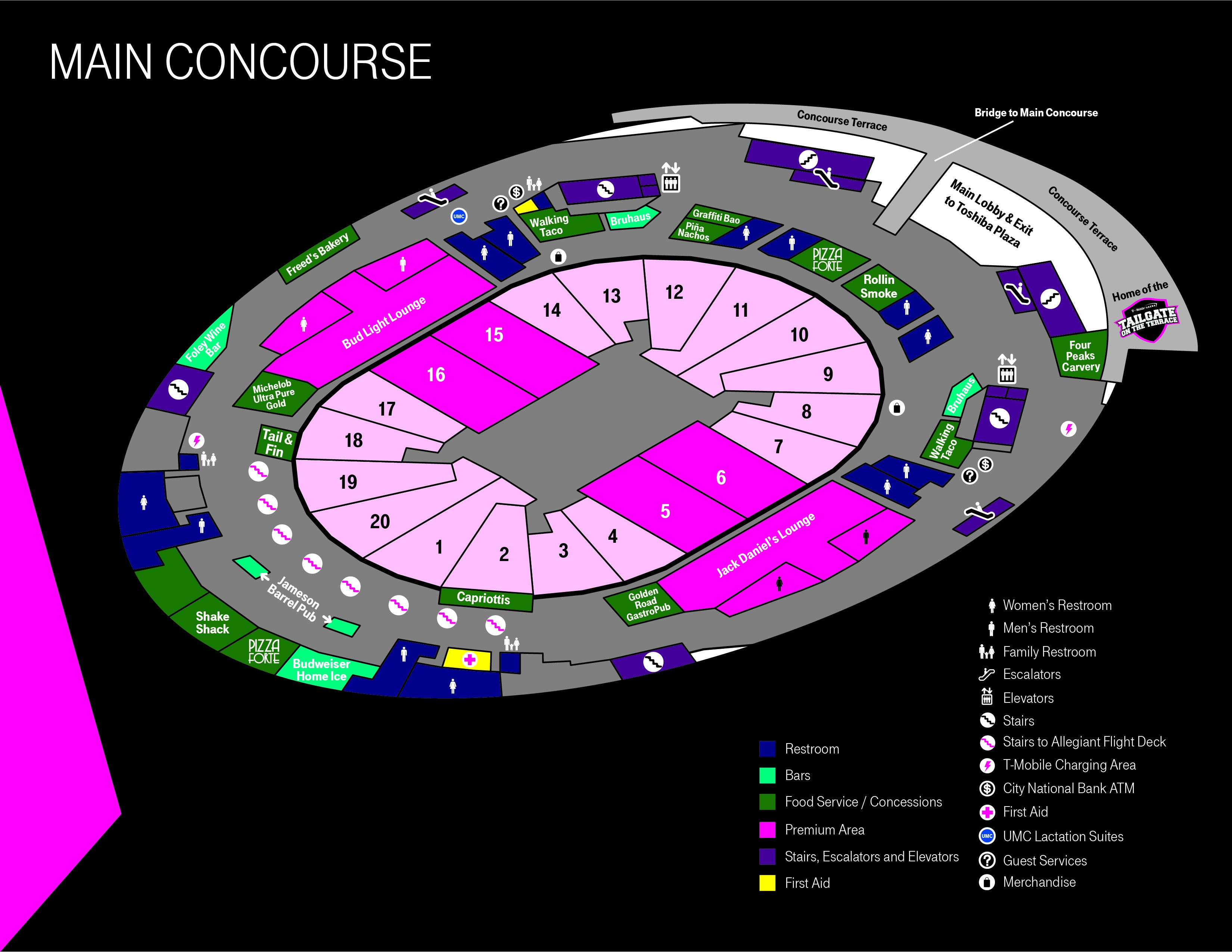 More Info for Concourse Maps