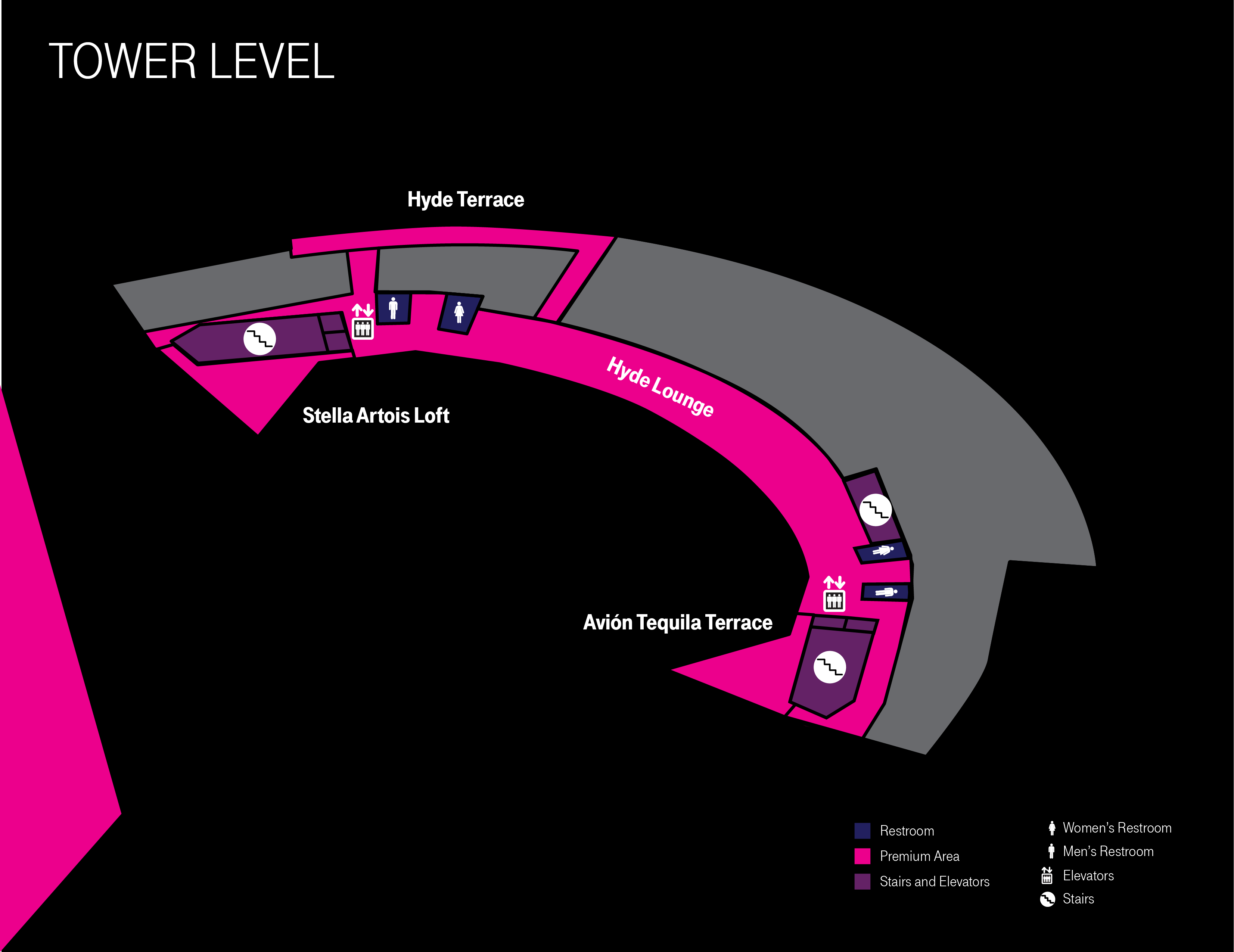 More Info for Tower Level Map