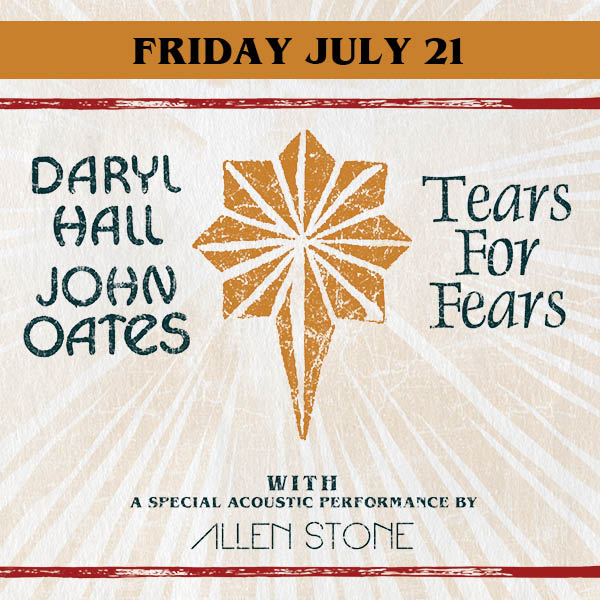 More Info for DARYL HALL & JOHN OATES AND TEARS FOR FEARS ANNOUNCE 29-CITY NORTH AMERICAN SUMMER TOUR