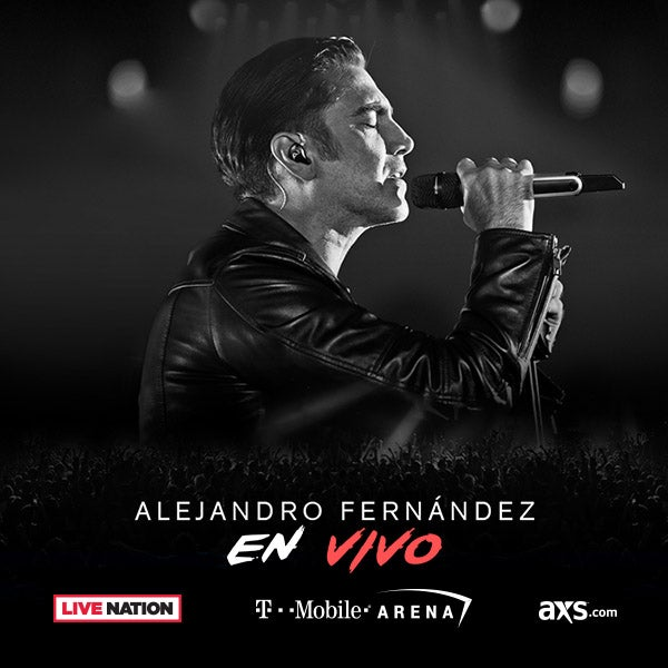 More Info for Alejandro Fernández to Perform at T-Mobile Arena  Friday, September 15