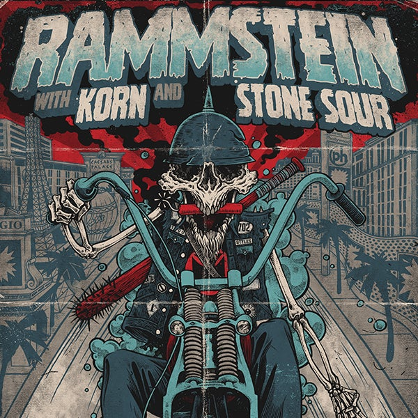 More Info for RAMMSTEIN INVADES LAS VEGAS 4TH OF JULY WEEKEND WITH KORN + STONE SOUR