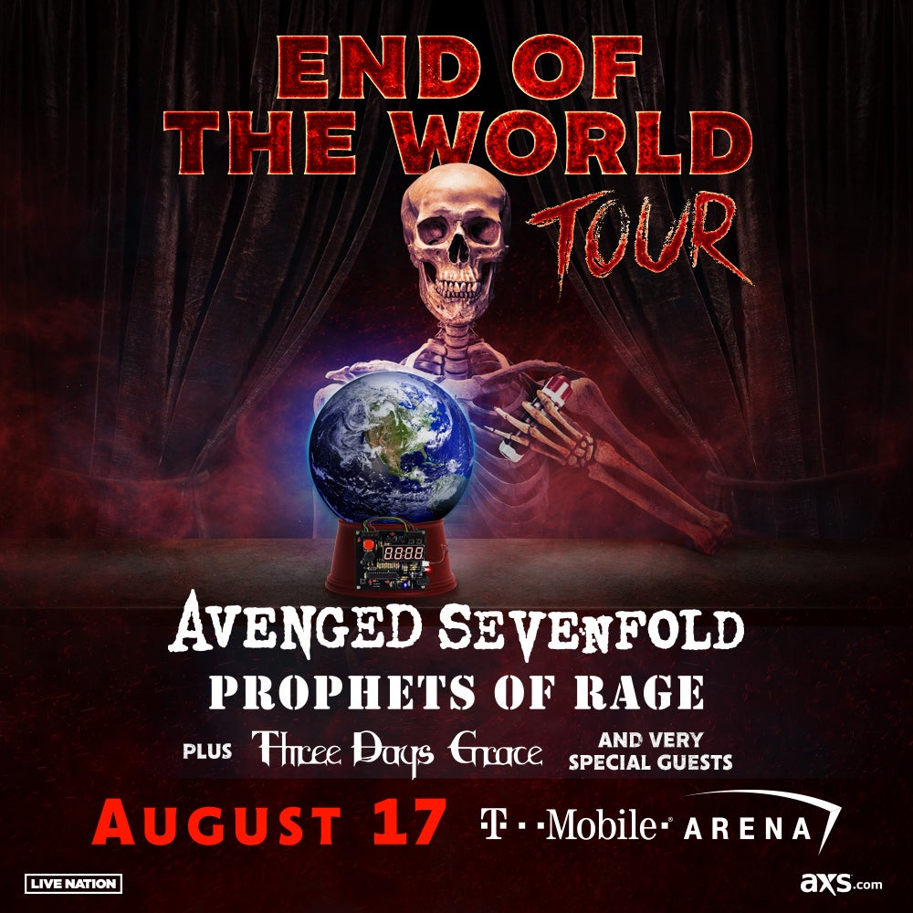 More Info for GRAMMY NOMINEES AVENGED SEVENFOLD ANNOUNCE  NORTH AMERICAN HEADLINING TOUR