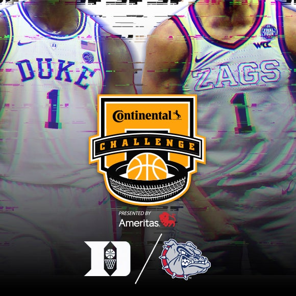 More Info for Continental Tire Challenge: Duke vs. Gonzaga