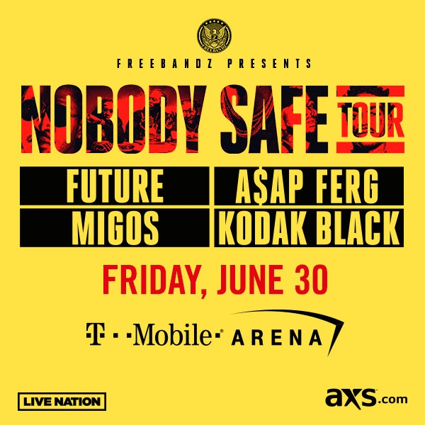 More Info for FUTURE ANNOUNCES MASSIVE SUMMER HEADLINE TOUR, INCLUDING LAS VEGAS STOP AT T-MOBILE ARENA FRIDAY, JUNE 30