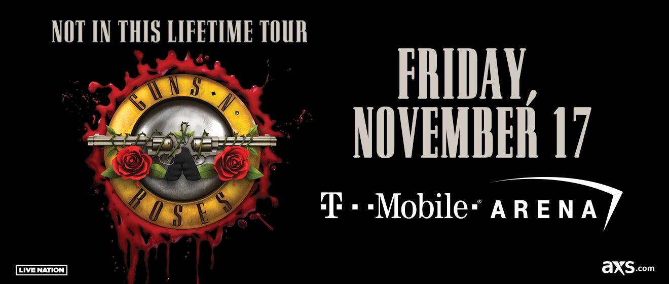 Guns N Roses Tour  Las Vegas Suite Prices