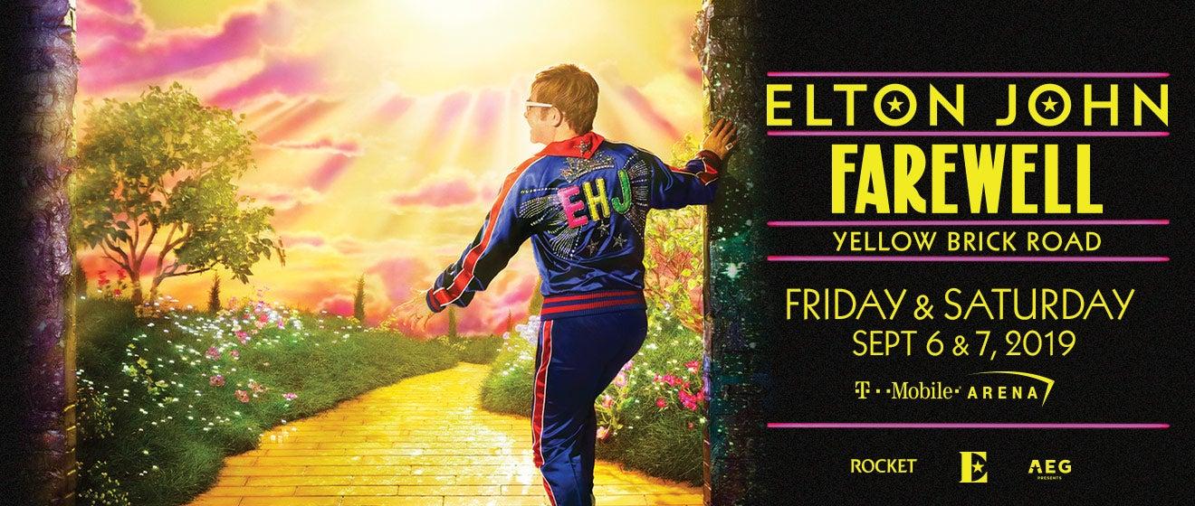 Elton John T Mobile Arena