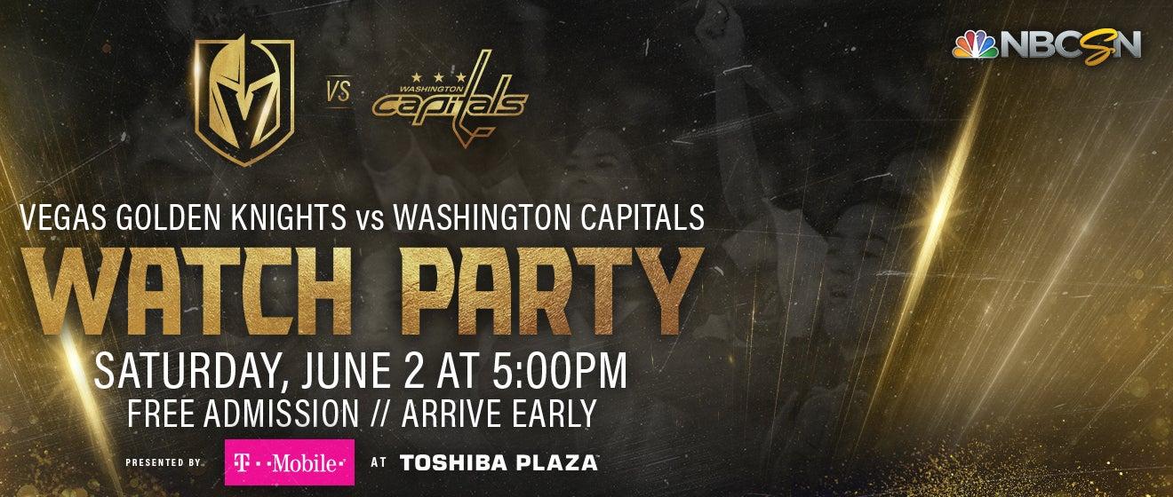 8bd0db7f248 Vegas Golden Knights vs. Washington Capitals WATCH PARTY