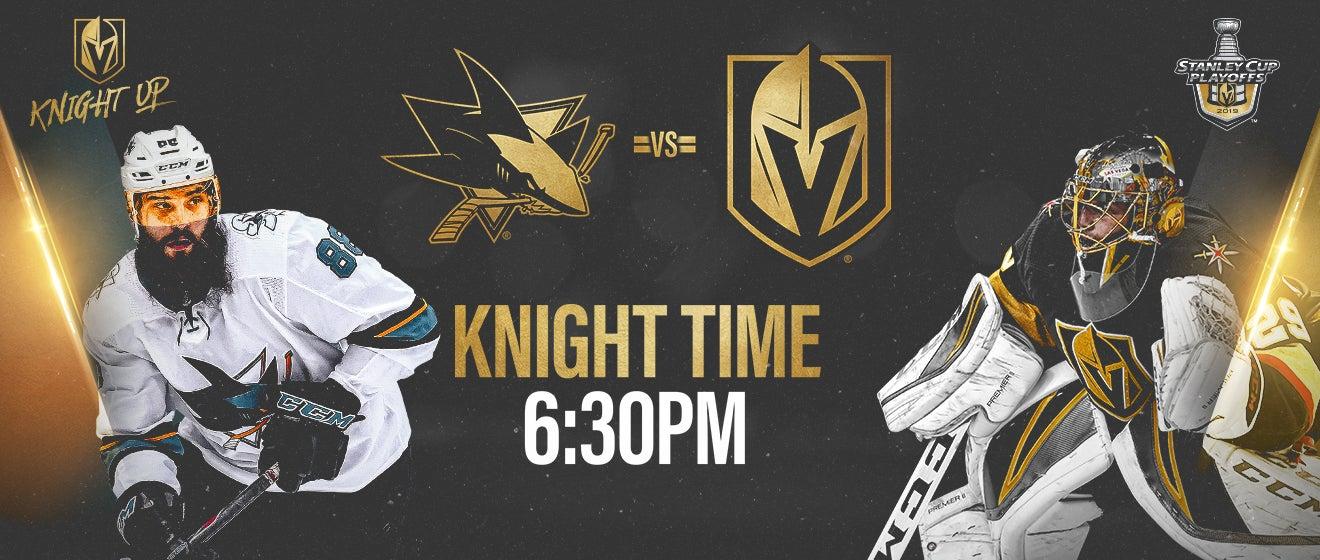 Vegas Golden Knights vs San Jose Sharks   T-Mobile Arena