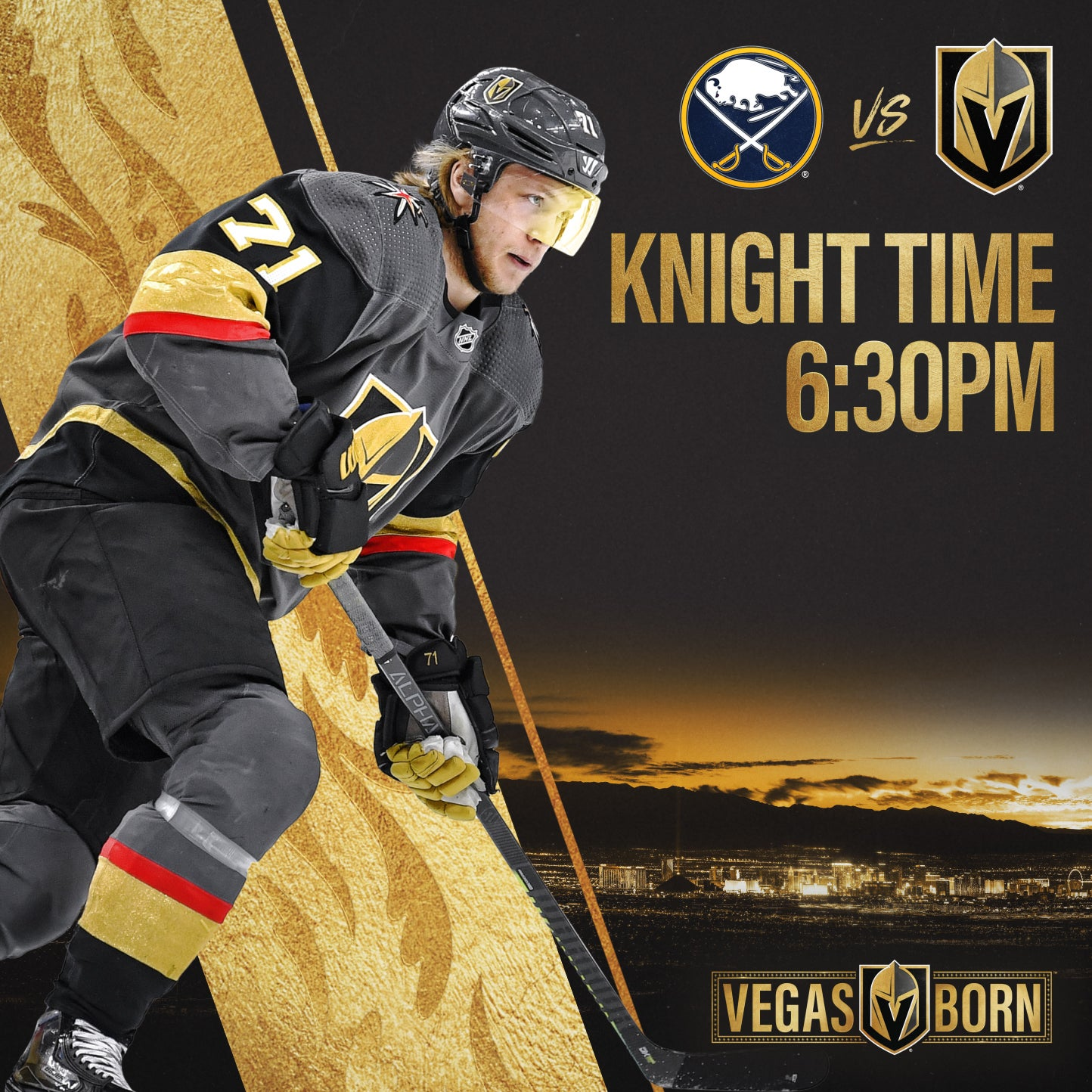 More Info for Vegas Golden Knights vs. Buffalo Sabres
