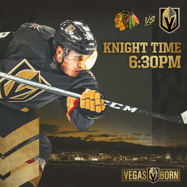 More Info for Vegas Golden Knights vs. Chicago Blackhawks
