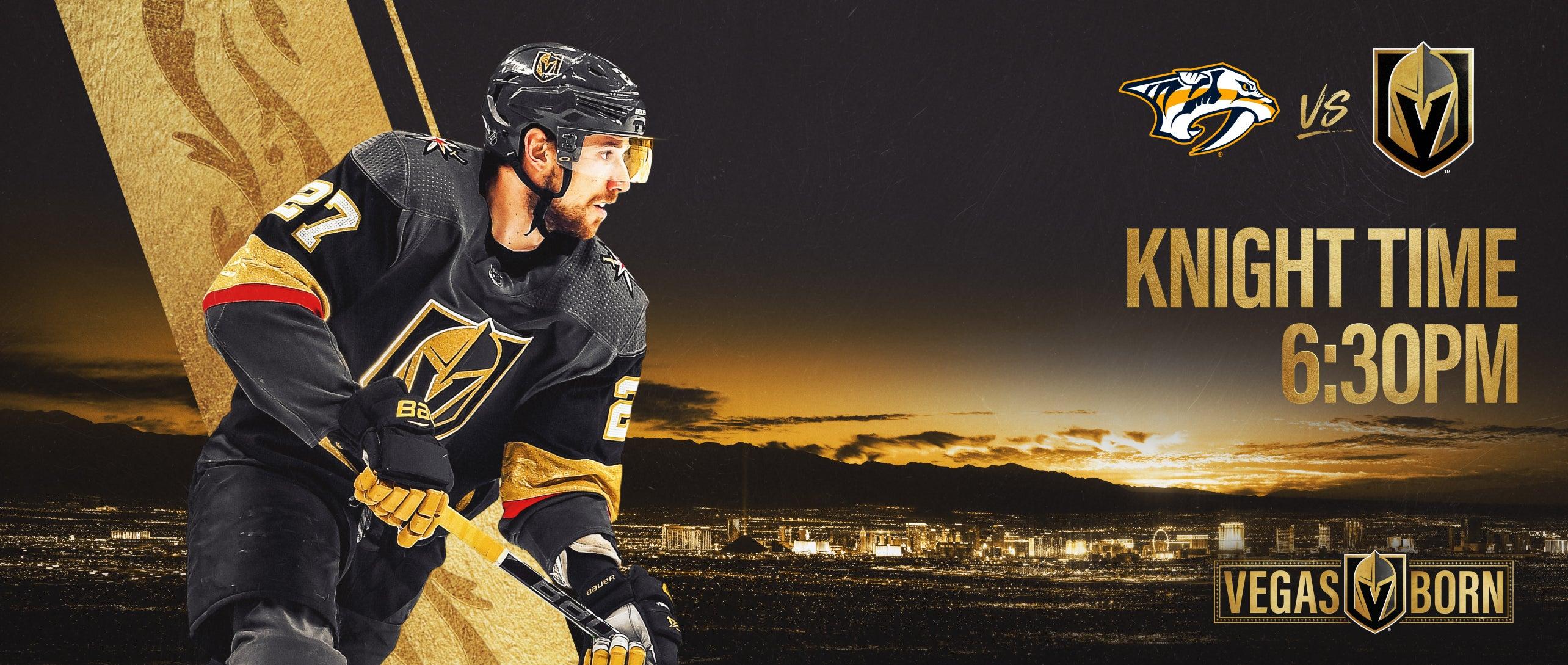 More Info for Vegas Golden Knights vs. Nashville Predators