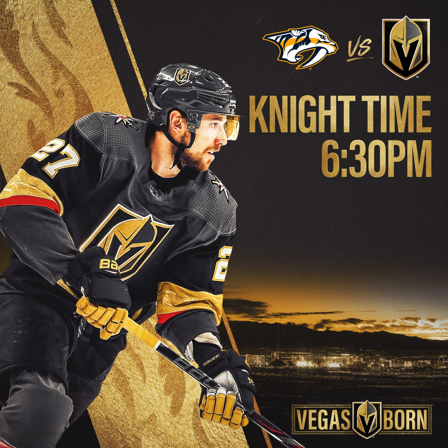 More Info for Vegas Golden Knights vs. Nashville Predators