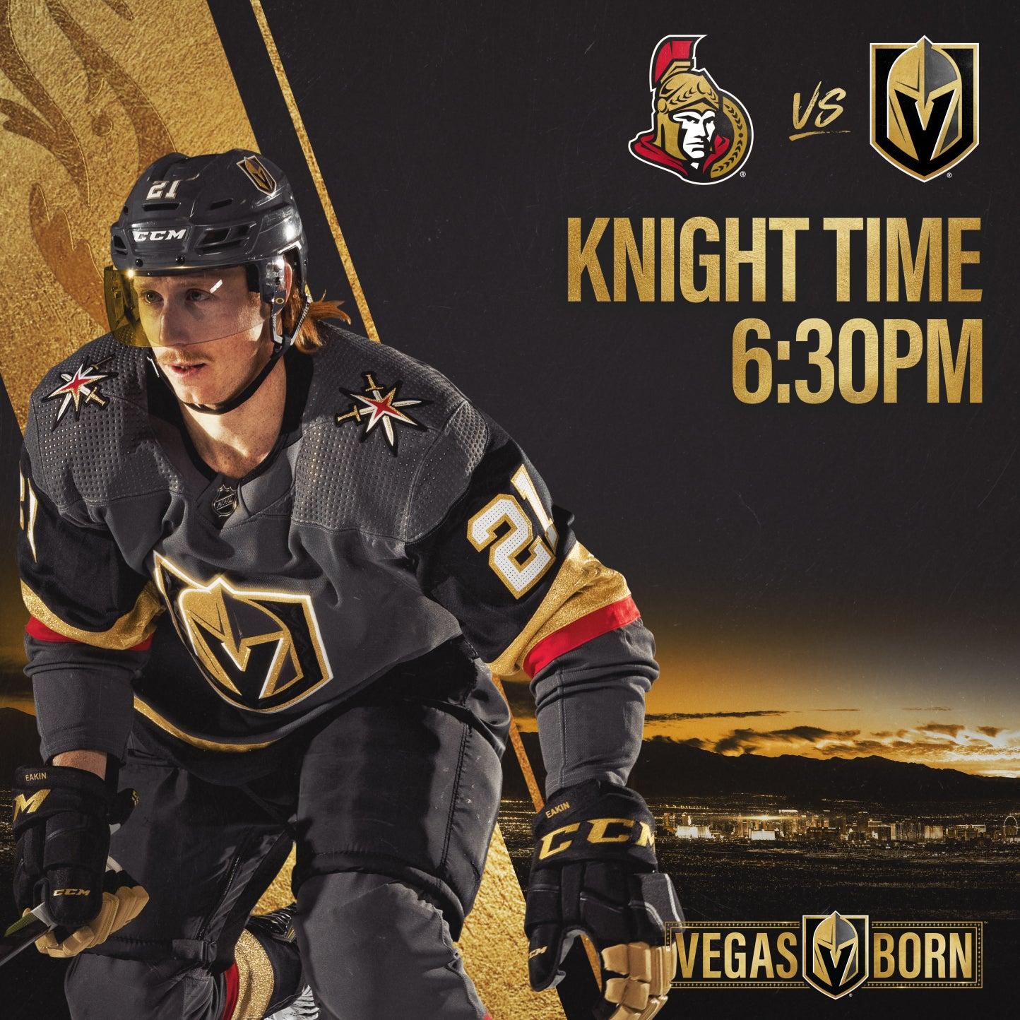 More Info for Vegas Golden Knights vs. Ottawa Senators