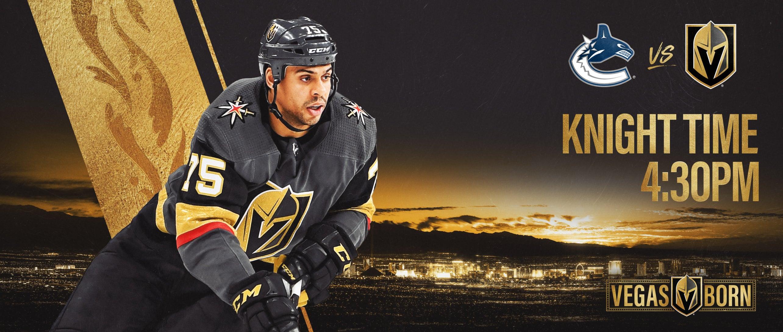 More Info for Vegas Golden Knights vs. Vancouver Canucks