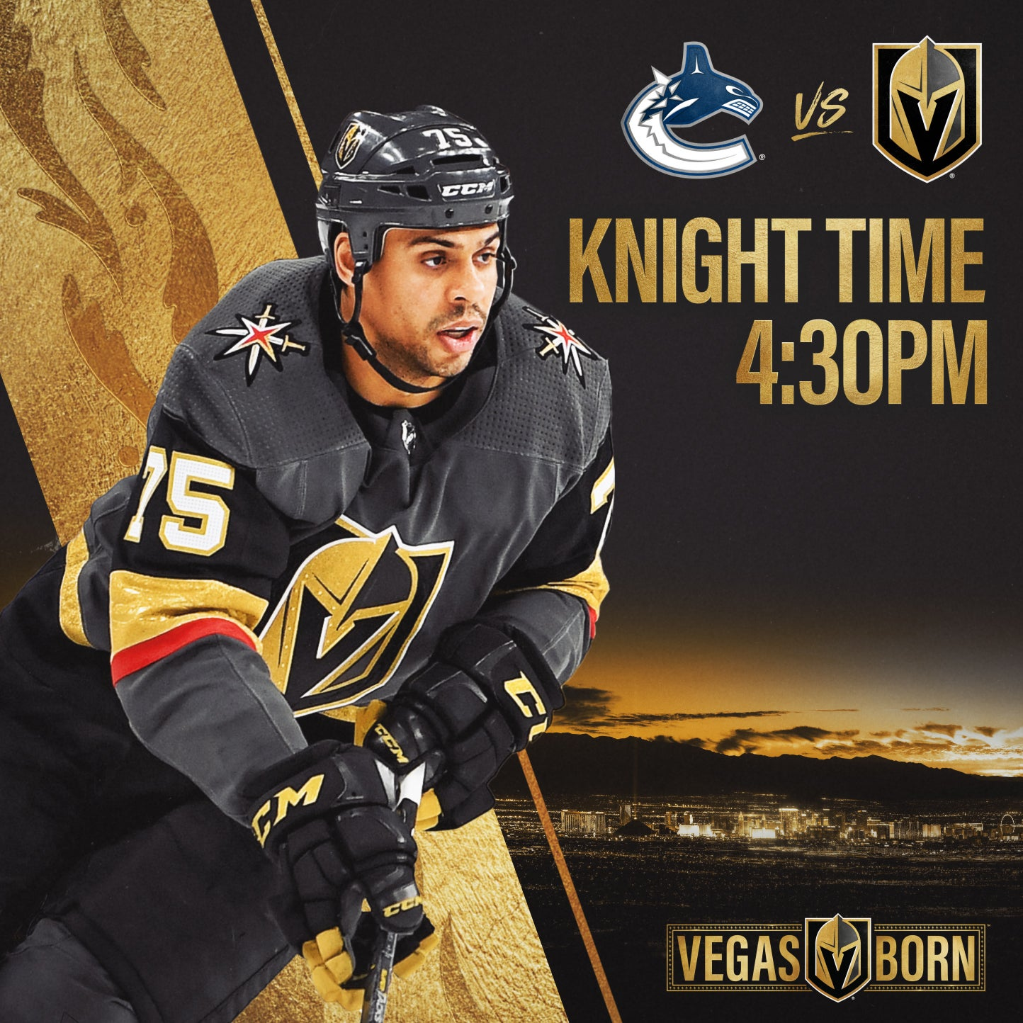 More Info for Vegas Golden Knights vs. Vancouver Canucks