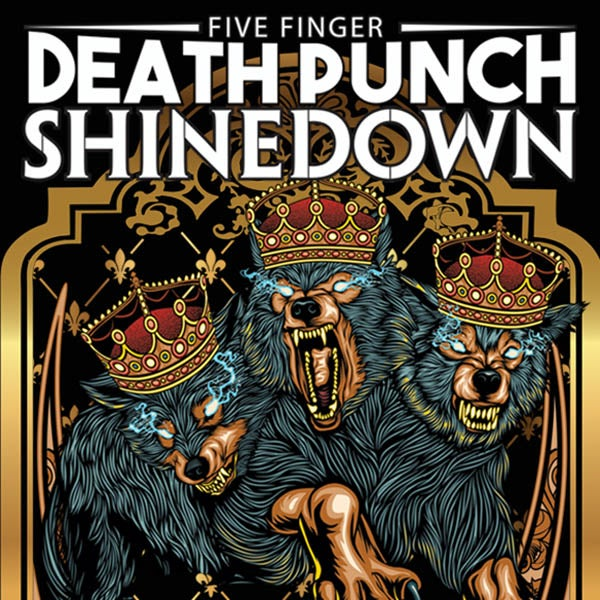 More Info for Five Finger Death Punch and Shinedown